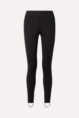 Balenciaga Jogger Stretch-ponte Stirrup Leggings - Black