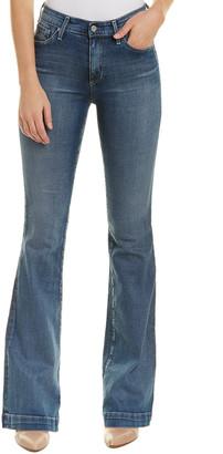 AG Jeans The Janis 15 Years Stark Horizon High-Rise Flare Leg