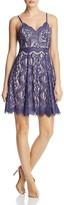 Aqua Sleeveless Lace Dress - 100% Exclusive