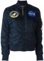 Alpha Industries 'nasa MA-1' bomber jacket