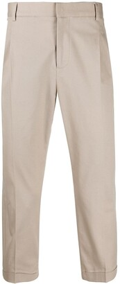 Daniele Alessandrini Cropped Tailored Trousers