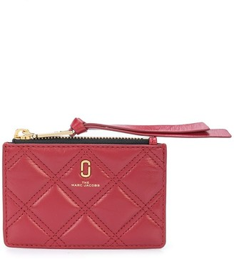 Marc Jacobs Logo Quilted Wallet