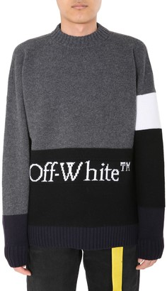 Off-White Color Block Sweater