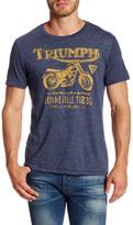 Lucky Brand Short Sleeve Triumph Bike Tee