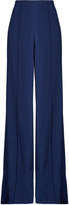 ADAM by Adam Lippes High-waisted wide-leg satin-crepe trousers