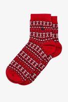 Jack Wills Darrowby Single Fairisle Socks