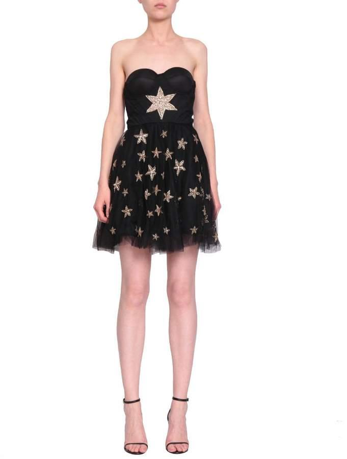 Amen Tulle Bustier Dress