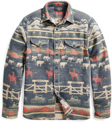 Ralph Lauren Ranch Cotton Jacquard Shirt