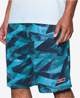 Under Armour Men's Printed Stephen Curry Shorts