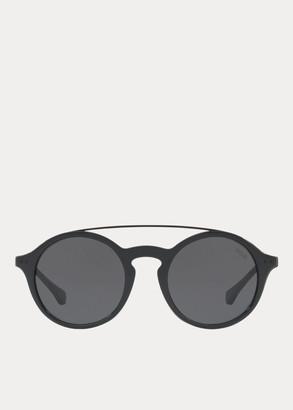 Ralph Lauren Keyhole-Bridge Sunglasses