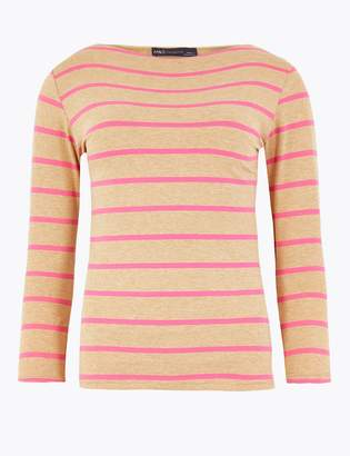 Marks and Spencer Striped Slim Fit T-Shirt