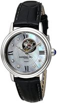 Raymond Weil Women's 2627-STC-00994 Maestro Stainless Steel Watch with Alligator Band