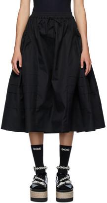 Cecilie Bahnsen Black Mandy Skirt