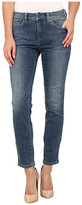 Miraclebody Jeans Joan Raw Hem Ankle Jeans in Hemlock Blue