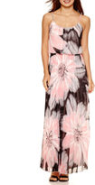 Bisou Bisou Sleeveless Pleated Maxi Dress