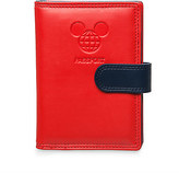 Disney Mickey Mouse TAG Passport Holder - Red - Walt World