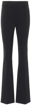Veronica Beard Hibiscus high-rise flared pants