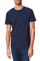 Paige Men's Kenneth Solid Crewneck T-Shirt w/ Pocket