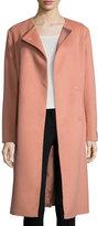 Cinzia Rocca Baby Camel Wrap Coat, Peach