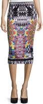 Bisou Bisou Slit-Back Pencil Skirt