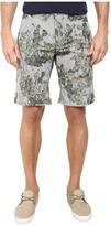 BOSS ORANGE Sairy-Shorts-W Slim Fit Cactus Printed Summer Stripe Shorts