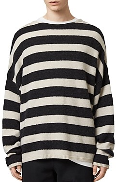 AllSaints Hayle Striped Sweater