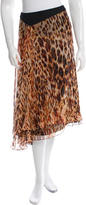 Bouchra Jarrar Spring 2015 Silk Printed Skirt w/ Tags