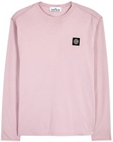 Stone Island Pink Cotton Top