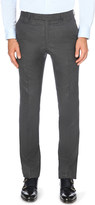 Gieves & Hawkes Slim-fit tapered wool-flannel trousers