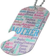 Space Case by New Vibe Mother Grandmother - Bottle Opener Dog Tag Necklace