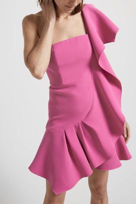 SABA Sara One Shoulder Mini Dress