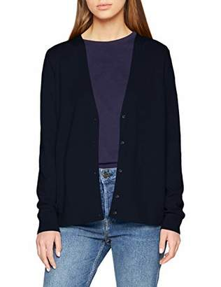 Street One Women's 252717 Cardigan, Rot (Pure Red 196)