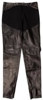 Givenchy Leather Skinny-Leg Pants w/ Tags