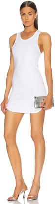 Frankie B. Shea Mini Tank Dress in White | FWRD