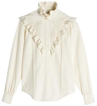 Victoria Beckham Victorian Silk Blouse