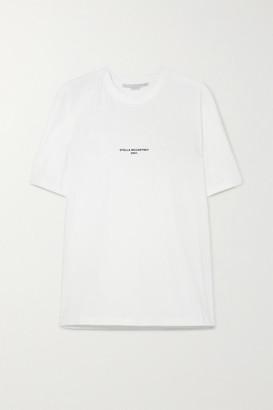 Stella McCartney Printed Organic Cotton-jersey T-shirt - White