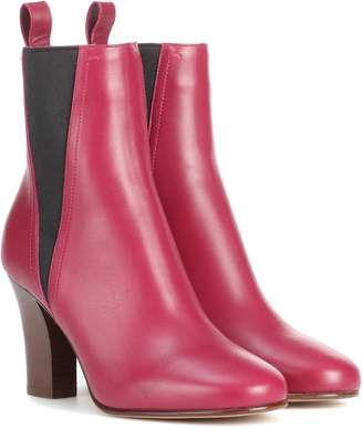 Valentino Garavani leather ankle boots