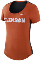 Nike Women's Clemson Tigers Dri-Blend Scoop T-Shirt