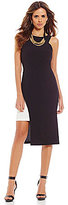 Gianni Bini Dasani Halter Sheath Cut-Out Dress