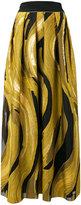 Alberta Ferretti printed pleated skirt - women - Silk/Cotton/Polyamide/Rayon - 44