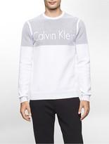 Calvin Klein One Colorblock Plaited Logo Sweatshirt