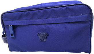 Versace Blue Synthetic Bags