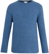 Wooyoungmi Crew-neck alpaca-blend sweater