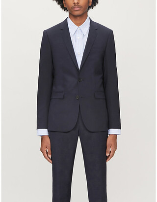 Sandro Slim-fit wool-blend blazer