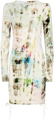 Cotton Citizen Lisbon Cotton Tie-Dye Dress