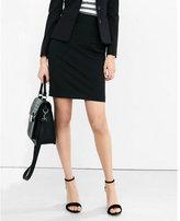 Express black high waisted pencil skirt
