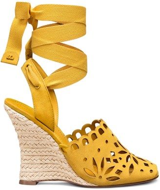 Tory Burch May Lace-Up Wedge