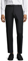 Lubiam Marco Wool Flat Front Trousers