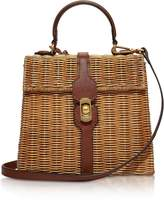 Coccinelle Denebola Wicker Satchel Bag