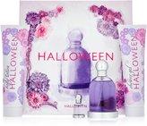 Jesus del Pozo Halloween By For Women. Gift Set 4 Pcs ( Eau De Toilette Spray 3.3 Oz + Fruit Lotion 5.0 Oz + Bubbles Shower Gel 5.0 Oz+ Miniature 4.5 Ml)